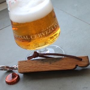 Barrel Stave Bottle Opener - corkscrews & bottle openers