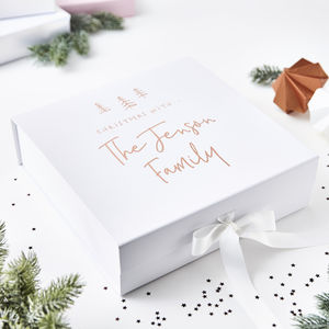 Personalised Christmas Eve Box - cards & wrap