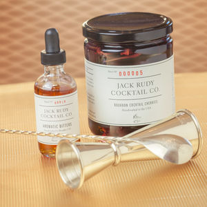 'Gentleman's Pack' Cocktail Kit With Bourbon Cherries - drink kits