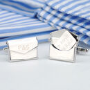 Personalised Love Letter Envelope Cufflinks