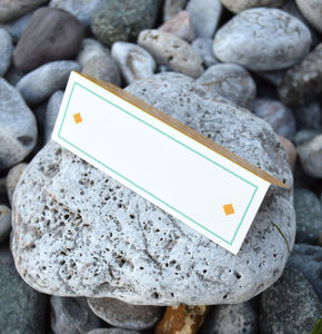 Summer Beach Wedding Place Cards - invitations