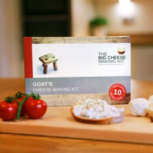 Make Your Own Goat's Cheese Making Kit - bread & cheese