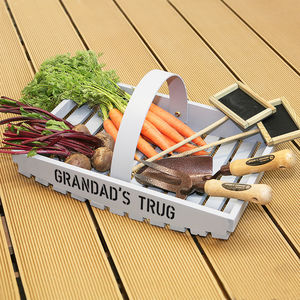 Personalised Garden Trug - 50th birthday gifts