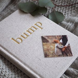 Pregnancy Record Book Bump Book - gifts for mums-to-be