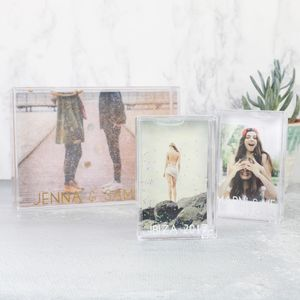 Personalised Glittery Photo Frame - picture frames