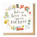big day wedding card