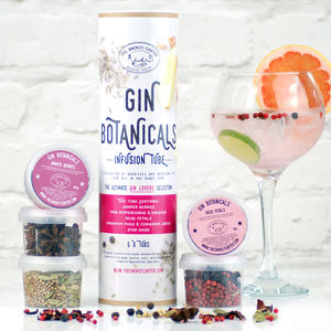 Gin Botanicals Infusion Tube Gift Set
