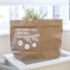 Family Christmas Gift Bag/Sack
