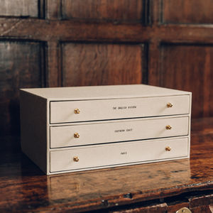Personalised Cabinet Keepsake Box
