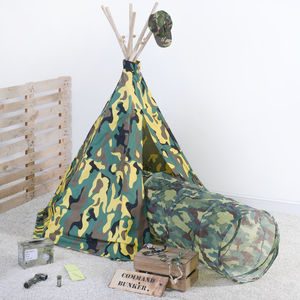 Army Play Tent - toys & games