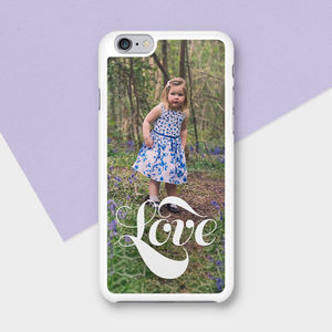 Love Personalised Photograph Phone Case - phone covers & cases