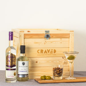 English Dry Martini Kit - gifts for her