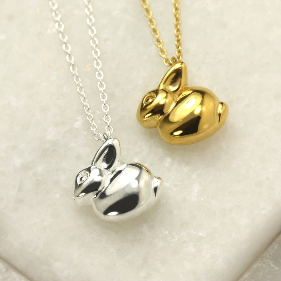 Personalised Bunny Necklace