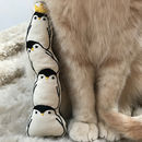 Catnip Penguin Kicker Cat Toy