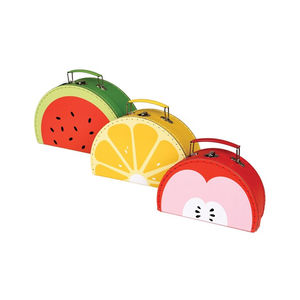 Colourful Fruit Nesting Storage Cases