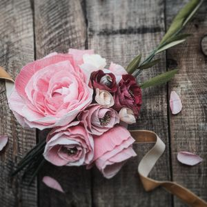 Paper Wedding Posy, The Hilaire