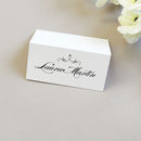 Olivia Wedding Place Cards