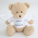 Personalised 12 Pack Milestone Bear Set Boys