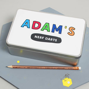 Personalised Children's Storage Tin - kitchen accessories