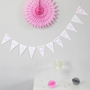 Mrs And Mrs Bunting - new in wedding styling