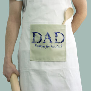 Personalised Men's Father's Day Apron