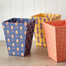 Wastepaper Bin In Colourful Designs