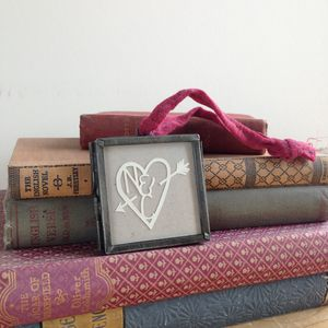 Personalised Paper Cut Heart - best valentine's gifts for her
