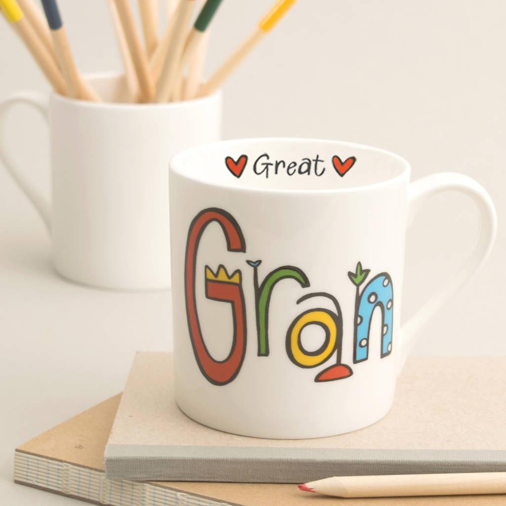 great grandma mug by mary fellows