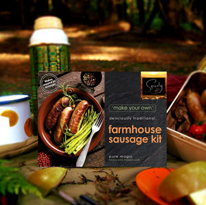 Make Your Own Farmhouse Sausage Kit - date-night dinner ideas