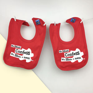 Twin Or Triplets New Baby, Shower Gift Set For Twins