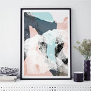 Abstract Wall Art Print Minimalist Print