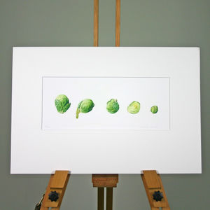 Brussels Sprouts Limited Edition Print