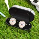Personalised Golf Style Cufflinks
