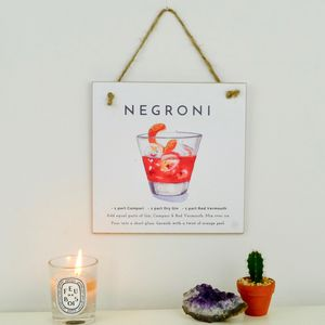 Negroni Cocktail Gift A Card