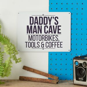 Personalised Metal Man Cave Sign - decorative accessories
