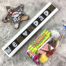 Personalised Chocolate For Dads With Sweets Gift Bag