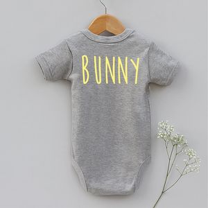 Babys first easter gifts and presents notonthehighstreet easter bunny body vest childrens easter negle Image collections