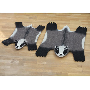Full Size Billie Badger Rug - rugs