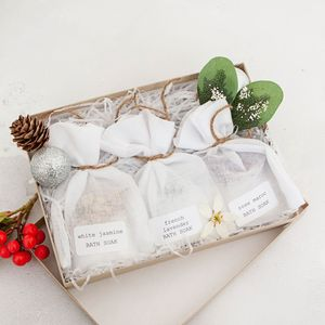 Wellbeing Bath Soak Sustainable Letterbox Gift Set