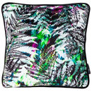Fern Botanical Velvet Cushion