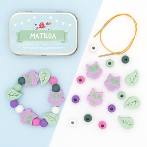 Personalised Woodland Bracelet Gift Kit