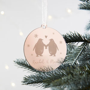 Girlfriend Boyfriend Christmas Decoration - christmas decorations