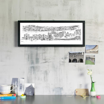 Bath Skyline Fine Art Print