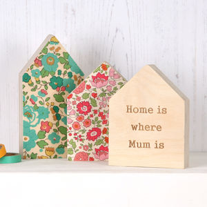Personalised Liberty House Ornament Gift For Her - gifts for grandmas