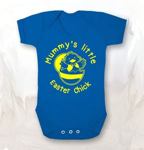 Mummy's Little Easter Chick Baby Grow