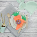 Carrot Shaped Paper Party Napkins