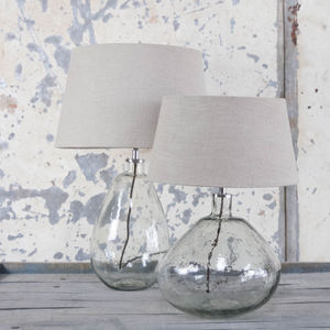 Glass Lamp Base