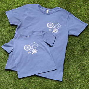 Adult And Child Cycling Parts T Shirts
