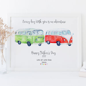 Personalised Father's Day Gift Print