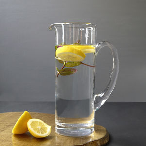 Glass Jug And Stirrer - tableware